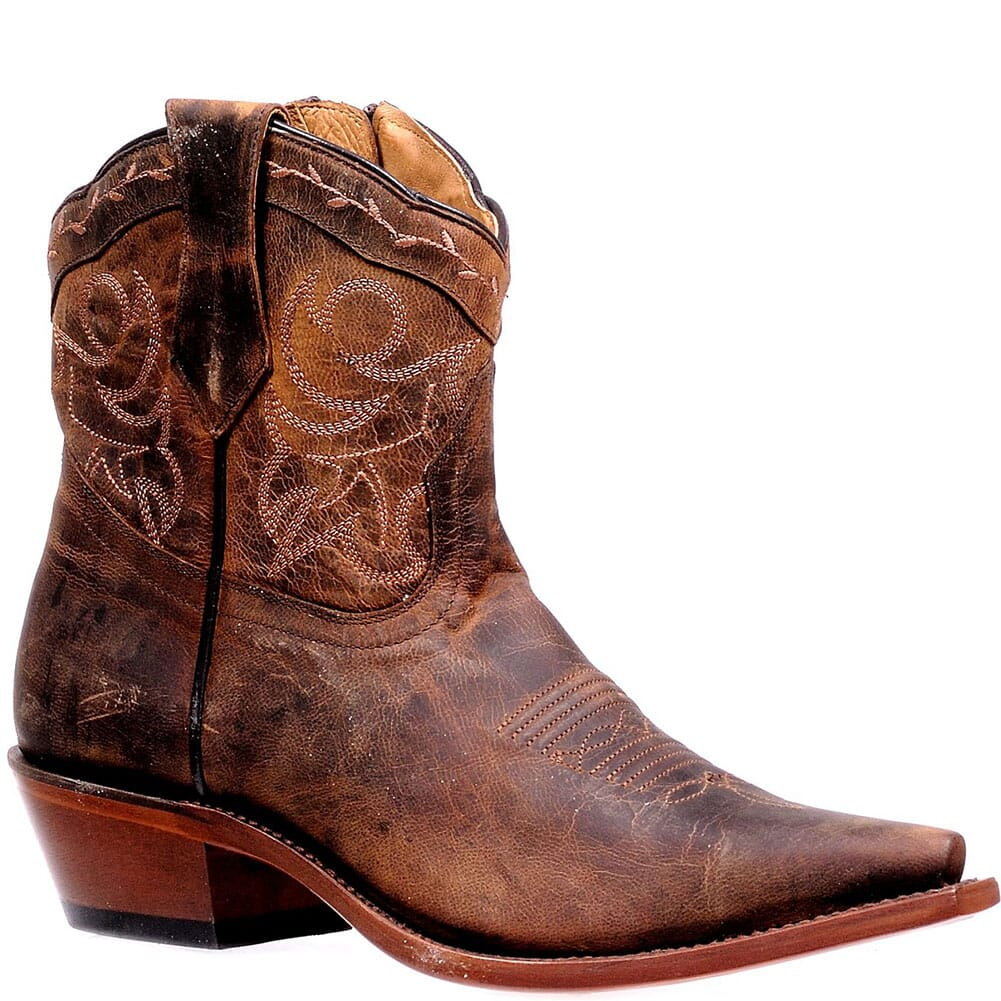 Image for Boulet Men's Cowboy Heel Western Boots - Cognac from bootbay