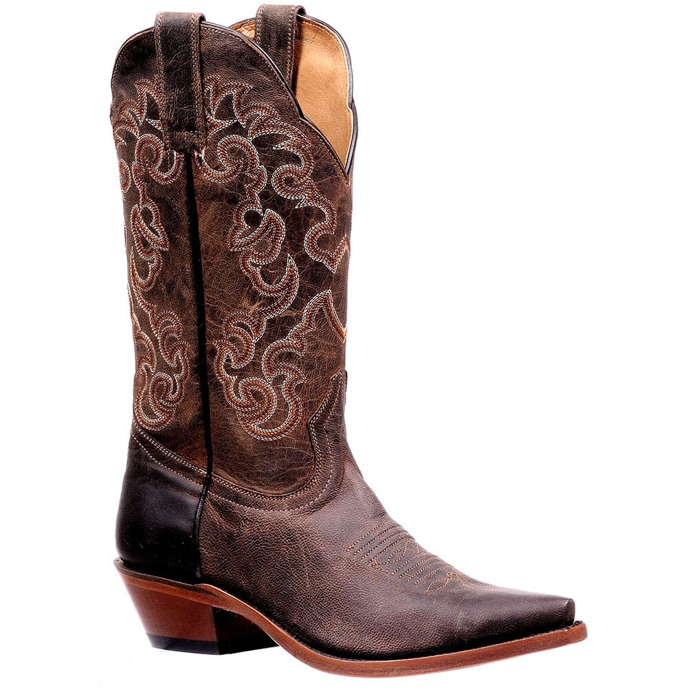 Image for Boulet Women's Rugged Western Boots - Brown from elliottsboots