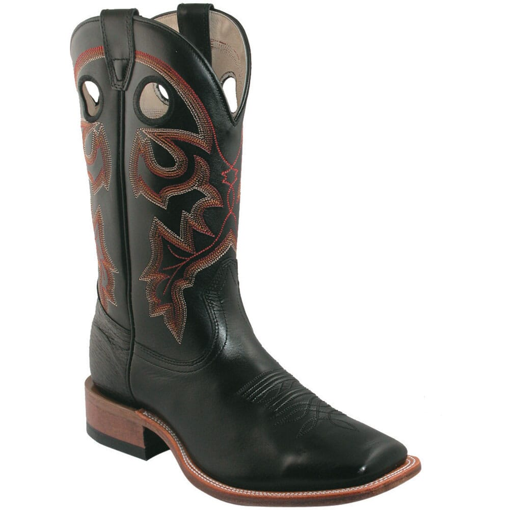 Image for Boulet Men's Wide Square Toe Western Boots - Torino Black from bootbay
