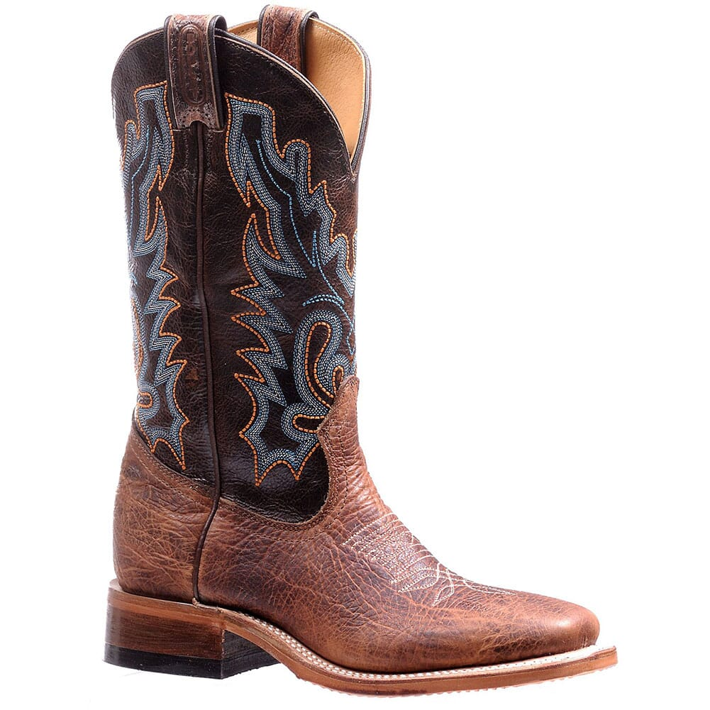 Image for Boulet Women's Rider Sole Western Boots - Damiana Moka/Shrunken Bomber from elliottsboots