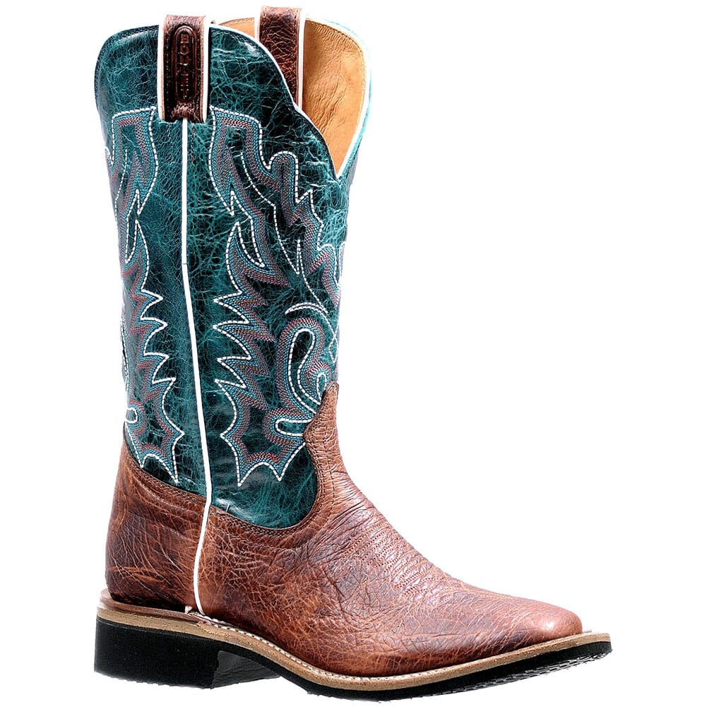 Image for Boulet Women's Extralight Western Boots - Faraon Turqueza/Shrunken Bomber from elliottsboots