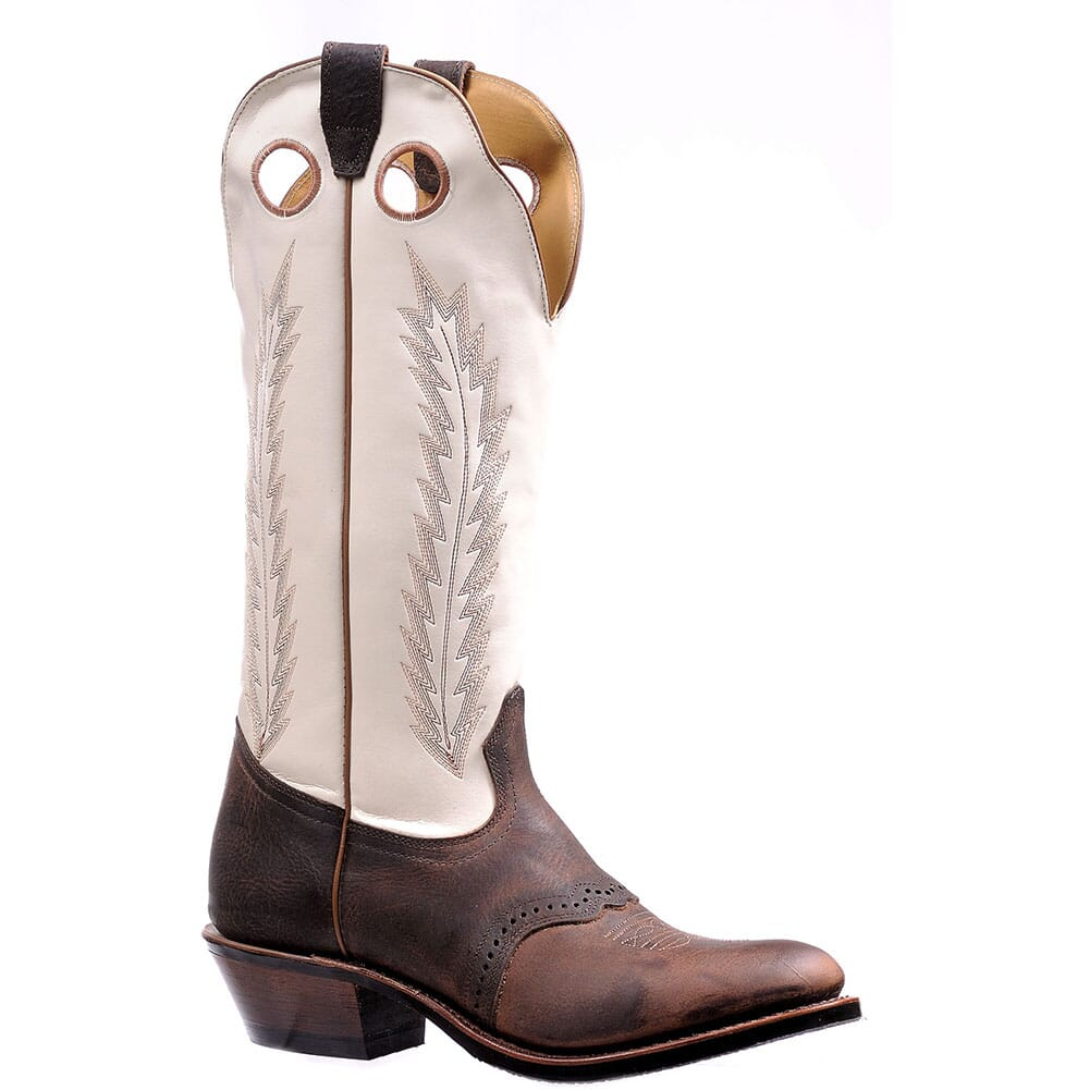 Image for Boulet Men's Rough Rider Sonora Western Boots - Bone from bootbay
