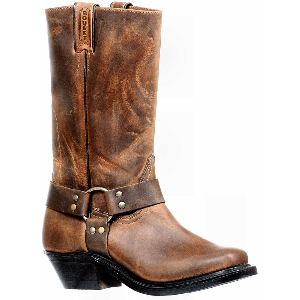 Image for Boulet Women's Engineer Motorcycle Boots - HillBilly Golden from elliottsboots