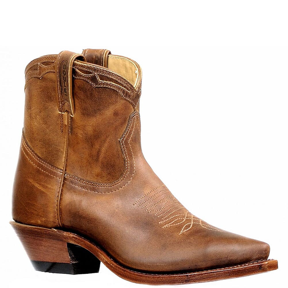 Image for Boulet Women's Snip Toe Leather Western Boots - Hillbilly Golden from elliottsboots