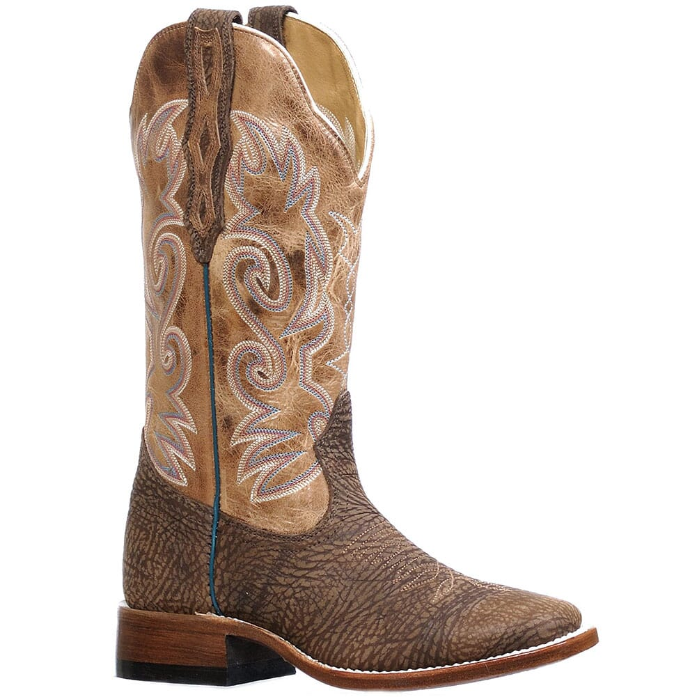 Image for Boulet Women's Bullhide Dodge City Western Boots - Taupe from elliottsboots