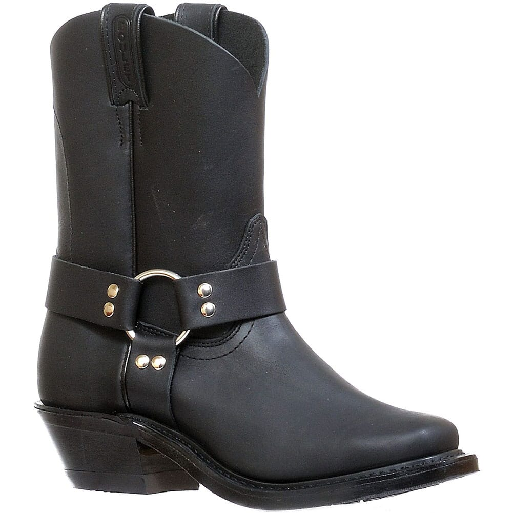 Image for Boulet Women's Vagabond Toe Motorcycle Boots - Black from bootbay