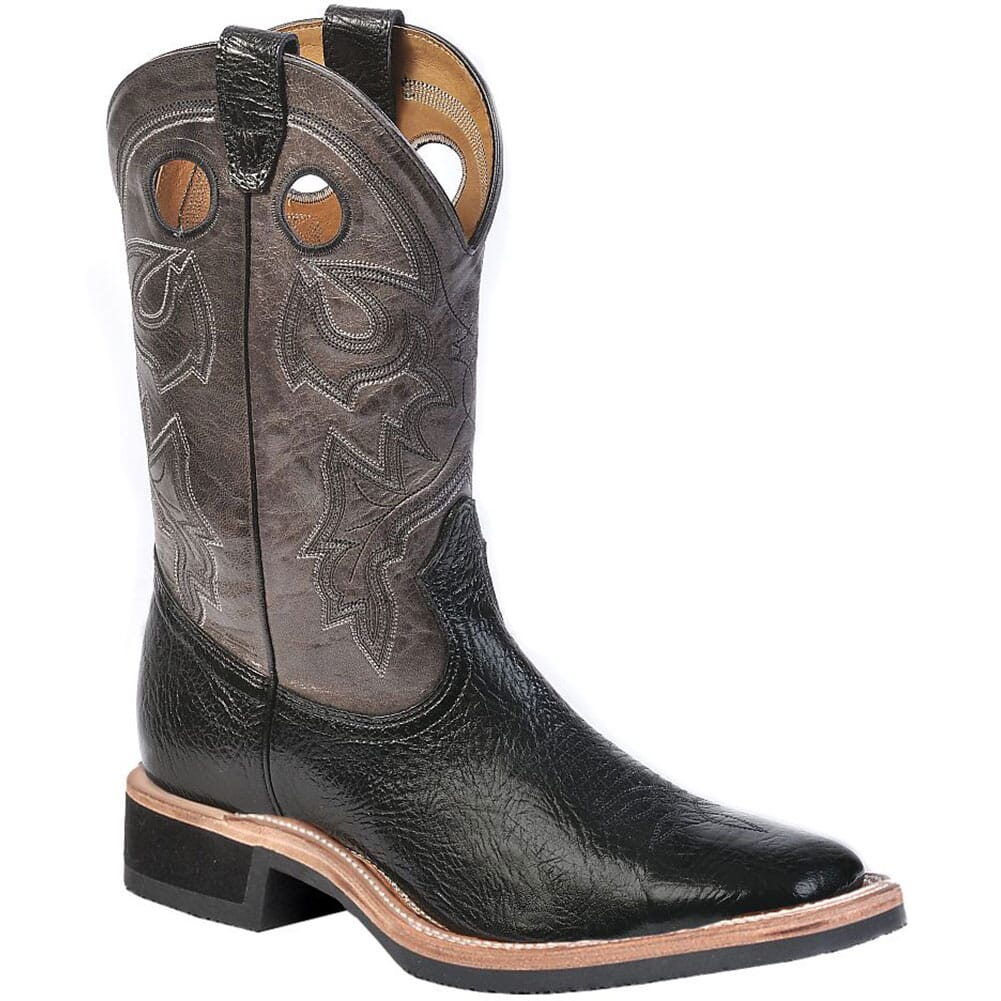 Image for Boulet Men's Taurus Western Boots - Black/Grey from bootbay