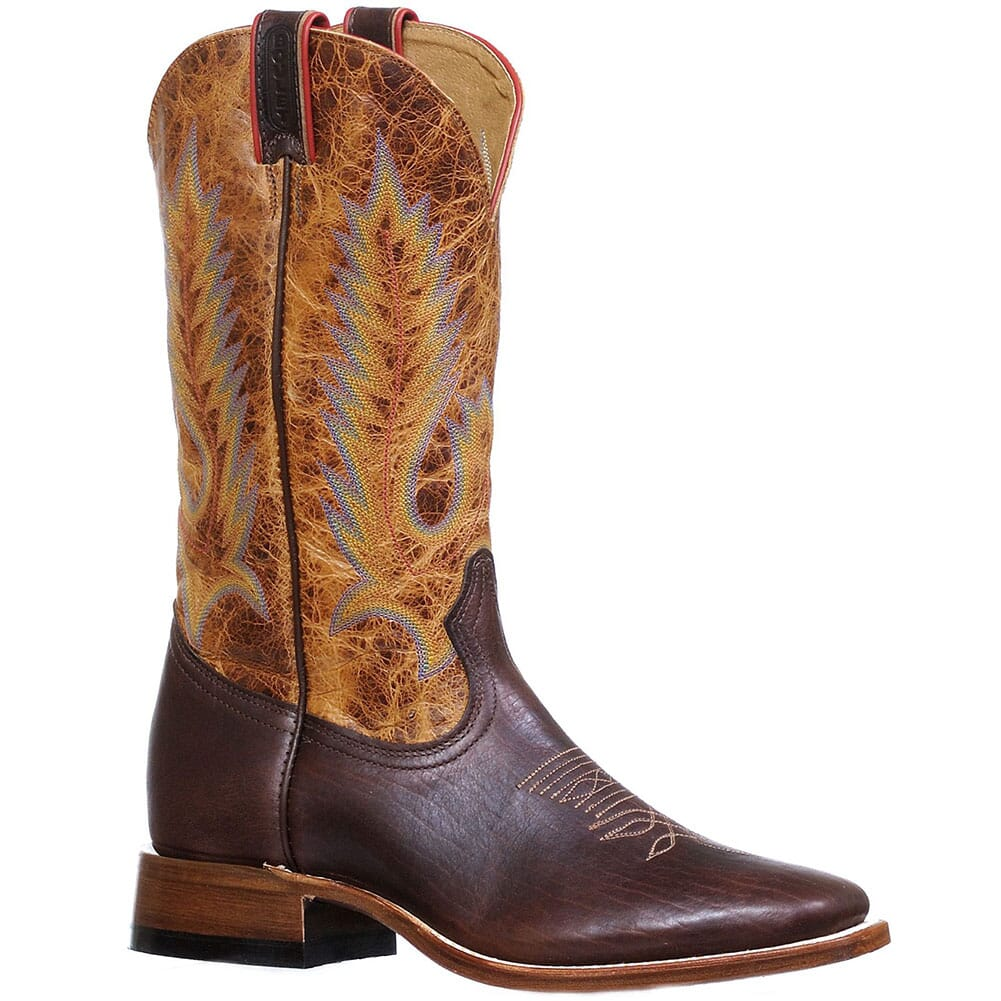 Image for Boulet Men's Lone Star Western Boots - Cognac from bootbay