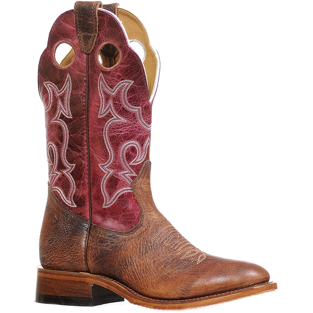 Image for Boulet Women's Faraon Western Boots - Magenta from elliottsboots