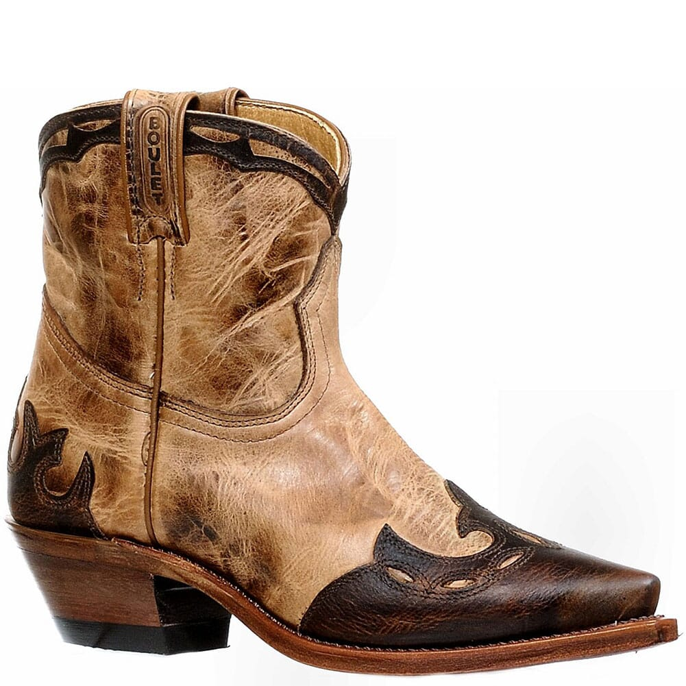 Image for Boulet Women's Damiana Moka Western Boots - Taupe from bootbay