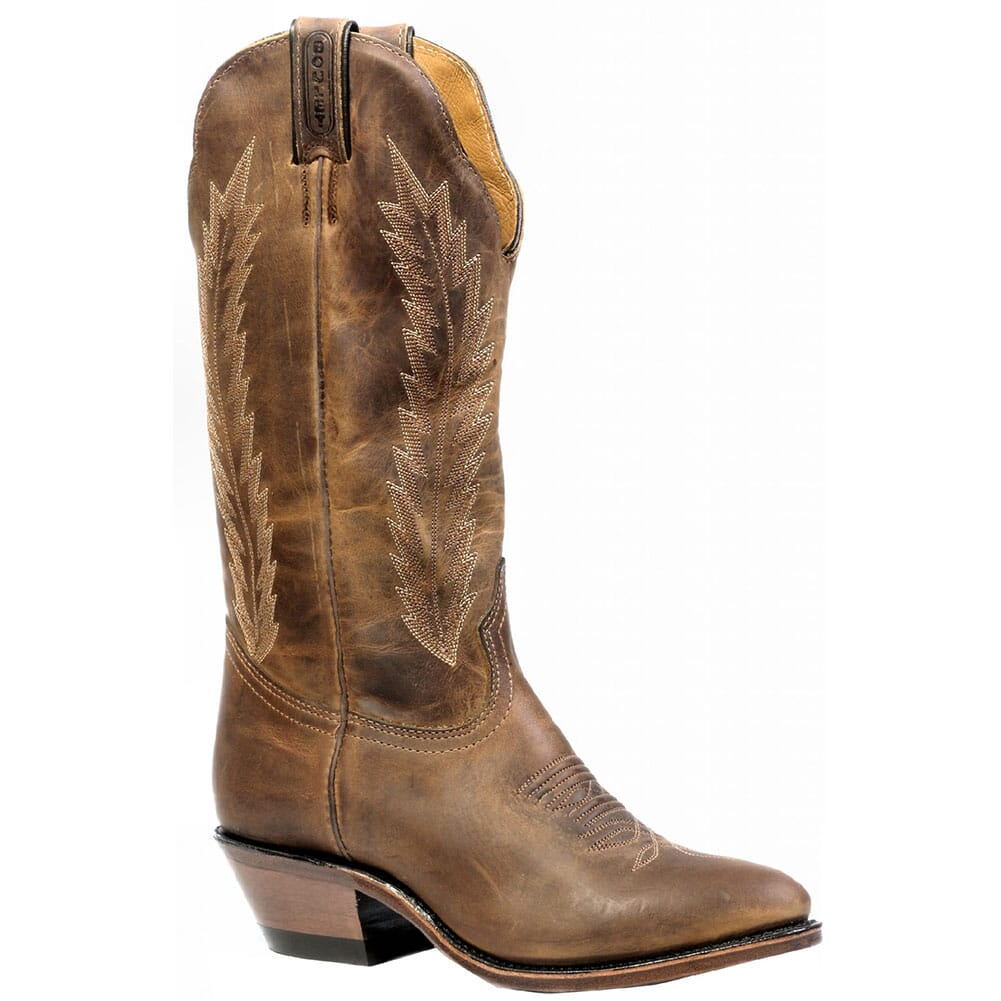 Image for Boulet Women's Leather Sole Western Boots - HillBilly Golden from bootbay