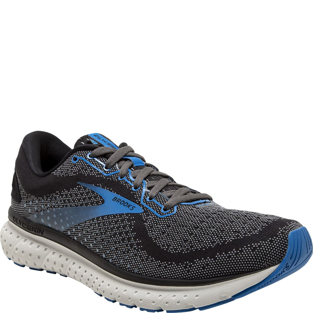 Image for Brooks Men's Glycerin 18 Athletic Shoes - Black from bootbay