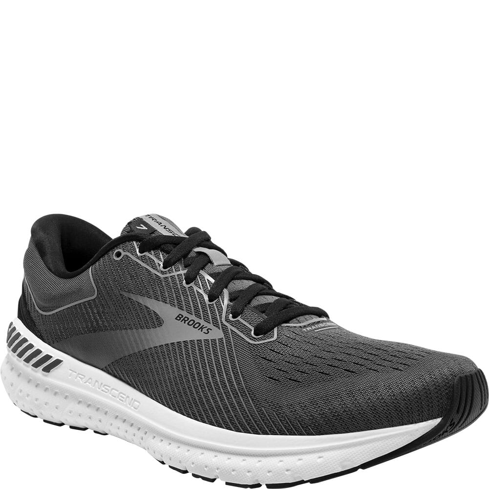 Image for Brooks Men's Transcend 7 Athletic Shoes - Black from bootbay
