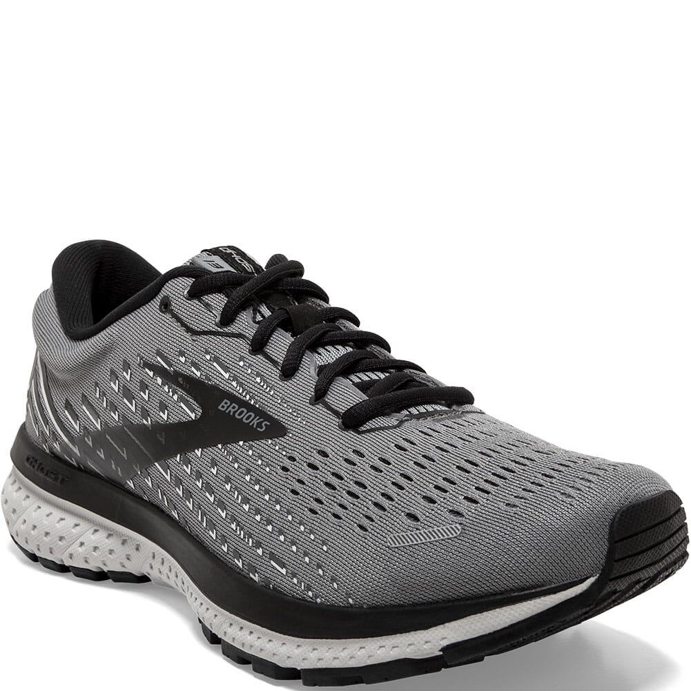 Image for Brooks Men's Ghost 13 Road Running Shoes - Primer Grey/Pearl/Black from bootbay