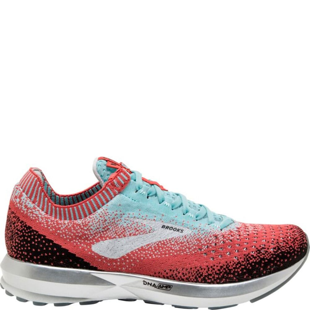 Image for Brooks Women's Levitate 2 Running Shoes - Coral/Blue/Black from bootbay