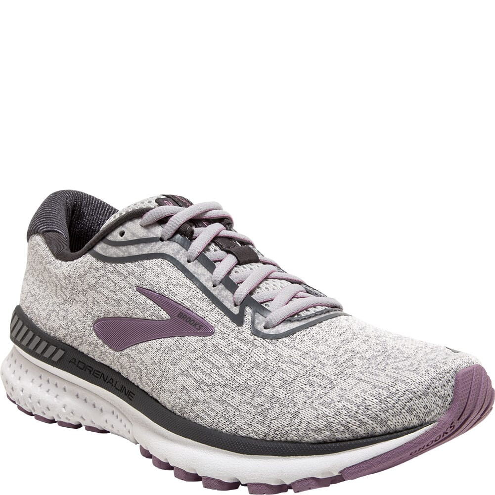 Image for Brooks Women's Adrenaline GTS 20 Athletic Shoes - Grey/White from elliottsboots