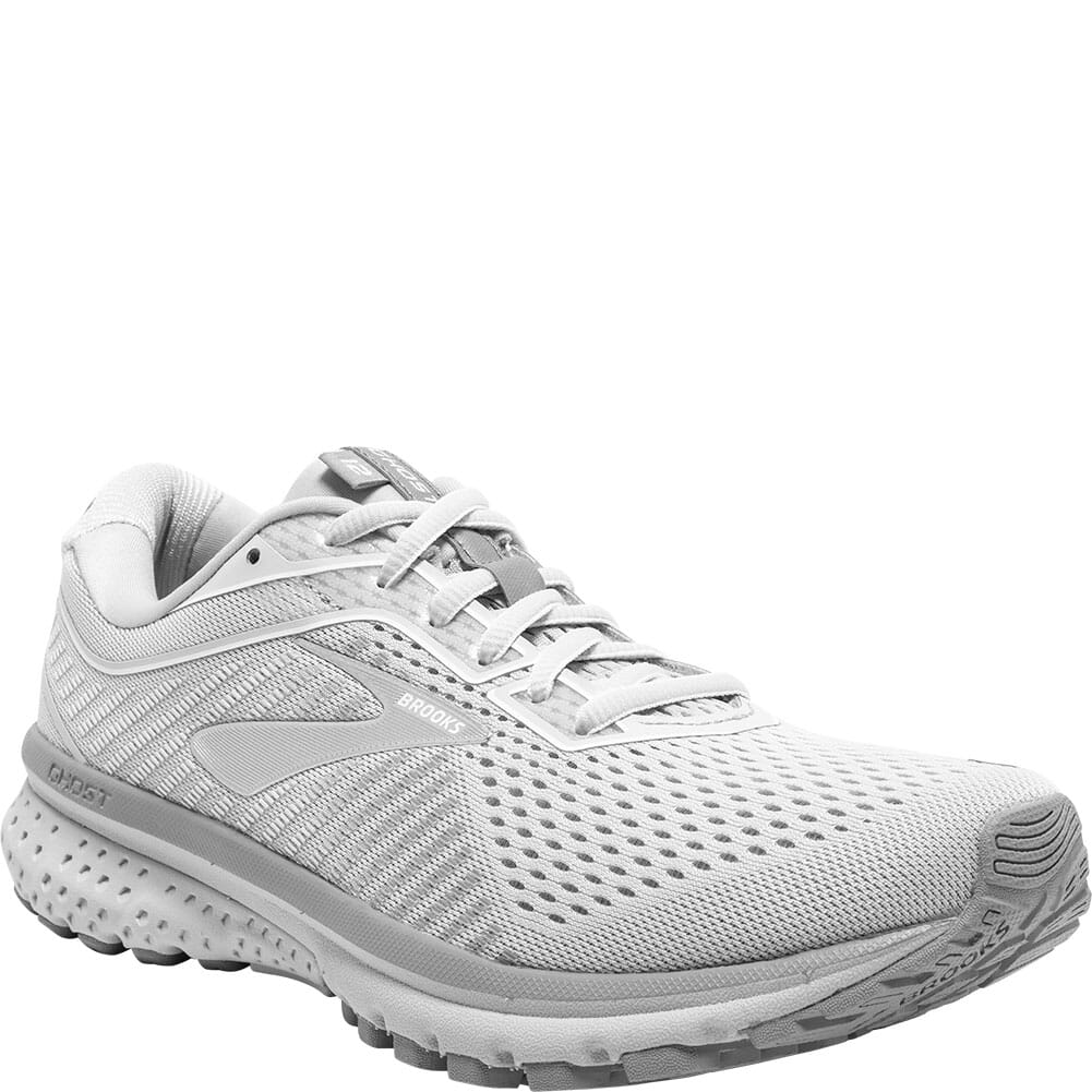 Image for Brooks Women's Ghost 12 Road Running Shoes - Oyster/Alloy from elliottsboots