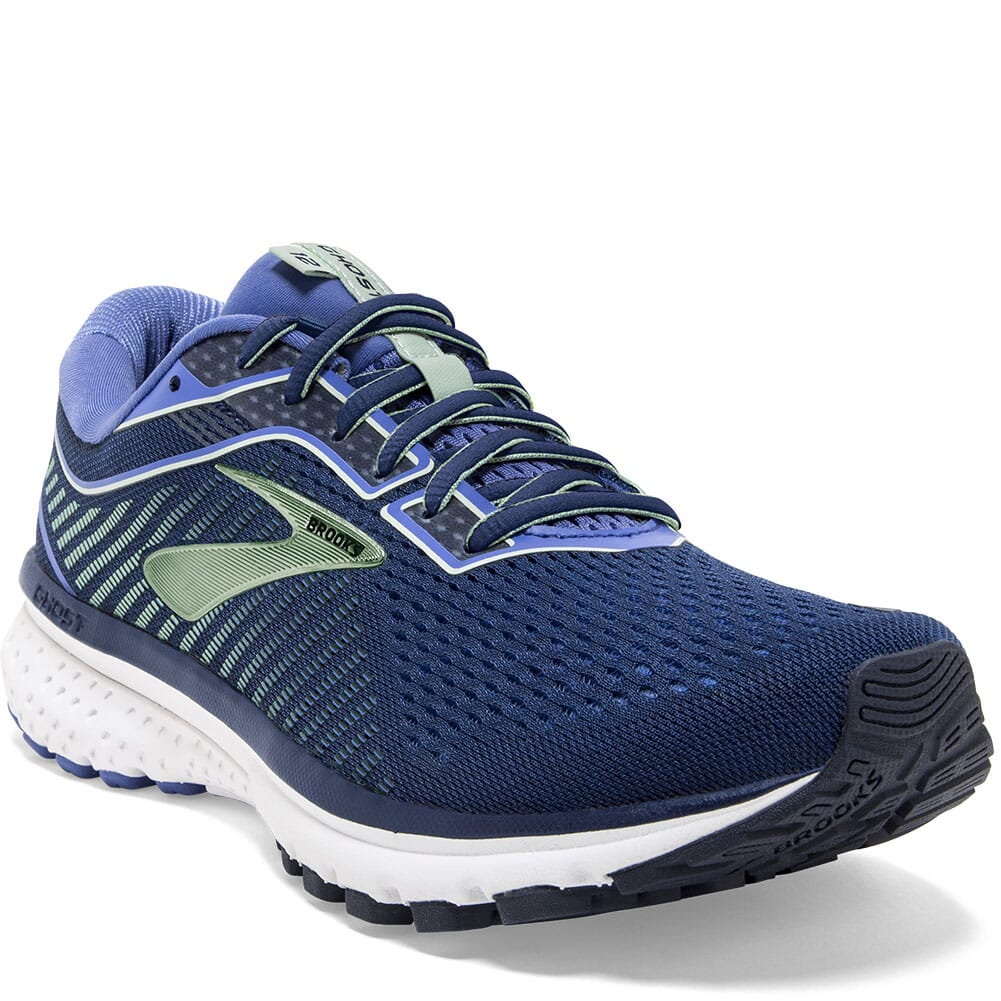 Image for Brooks Women's Ghost 12 Road Running Shoes - Blue/Aqua from bootbay