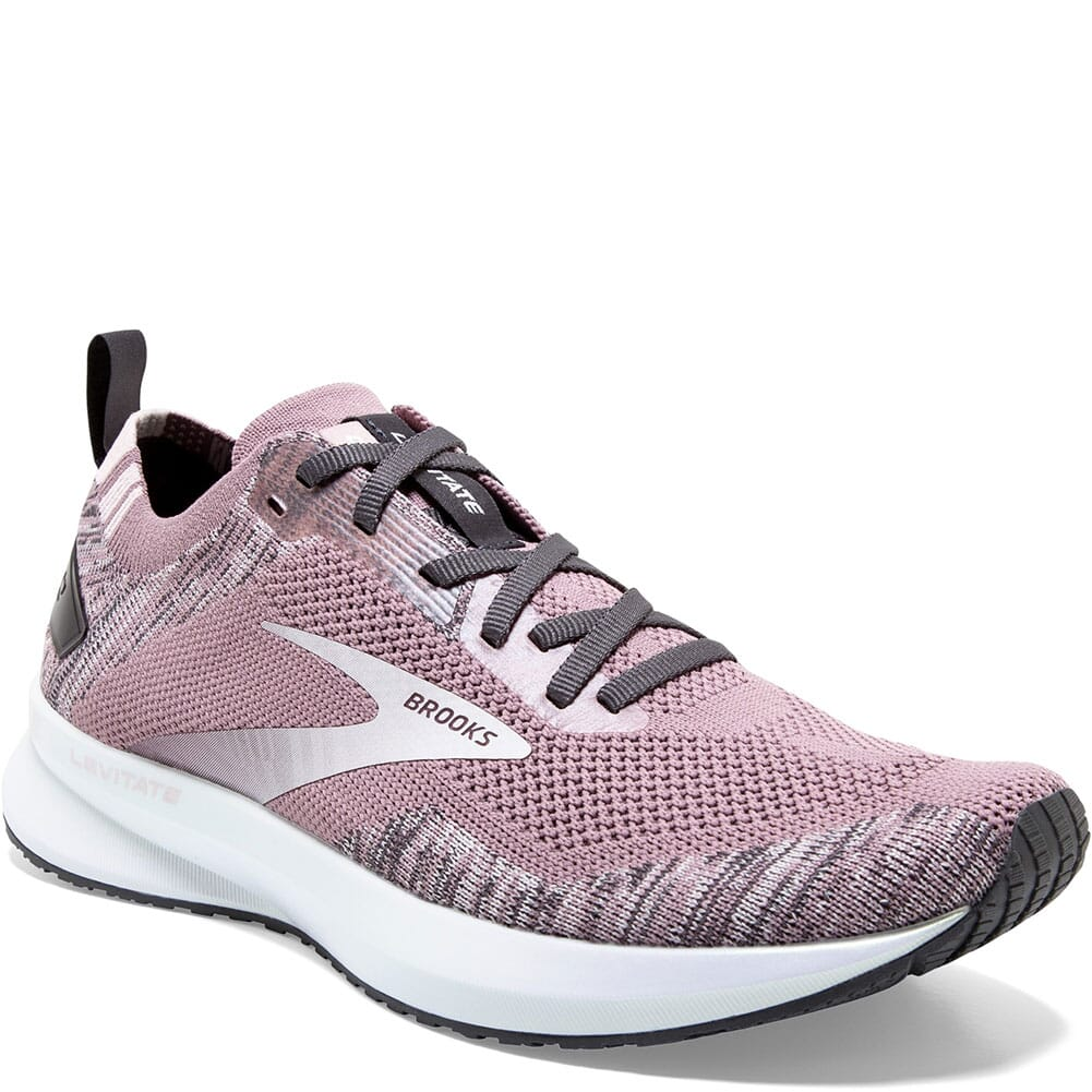 Image for Brooks Women's Levitate 4 Road Running Shoes - Blackened Pearl from elliottsboots