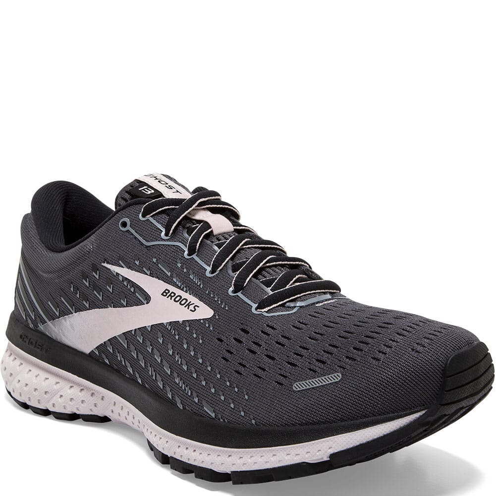 Image for Brooks Women's Ghost 13 Road Running Shoes - Black/Pearl/Hushed Viole from bootbay
