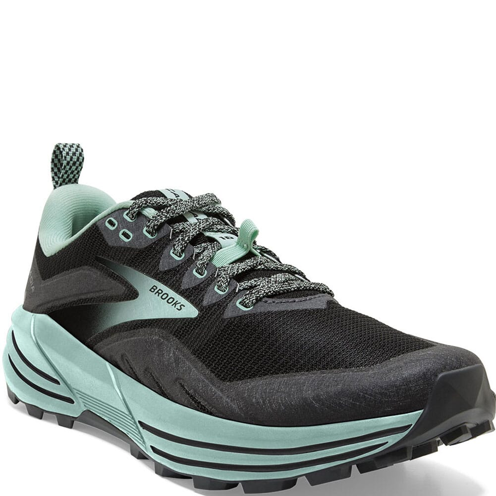 Image for Brooks Women's Cascadia 16 Running Shoes - Black/Ebony from bootbay
