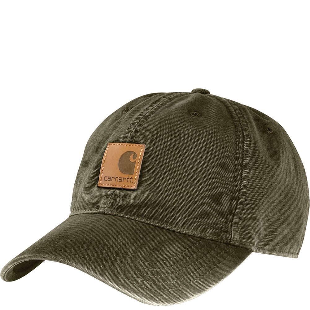 Image for Carhartt Men's Odessa Cap - Army Green from elliottsboots