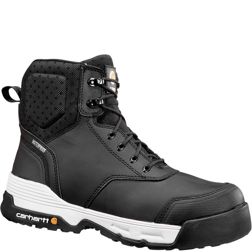 Image for Carhartt Men's Force 6IN Safety Boots - Black from bootbay