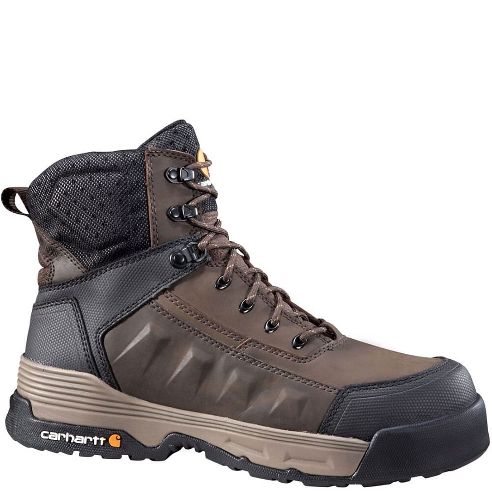 Image for Carhartt Men's Force EH Safety Boots - Brown from bootbay