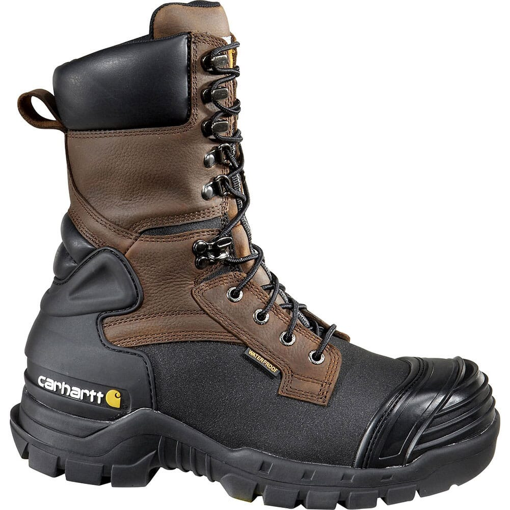 Image for Carhartt Men's WP INS EH Safety Boots - Brown from bootbay
