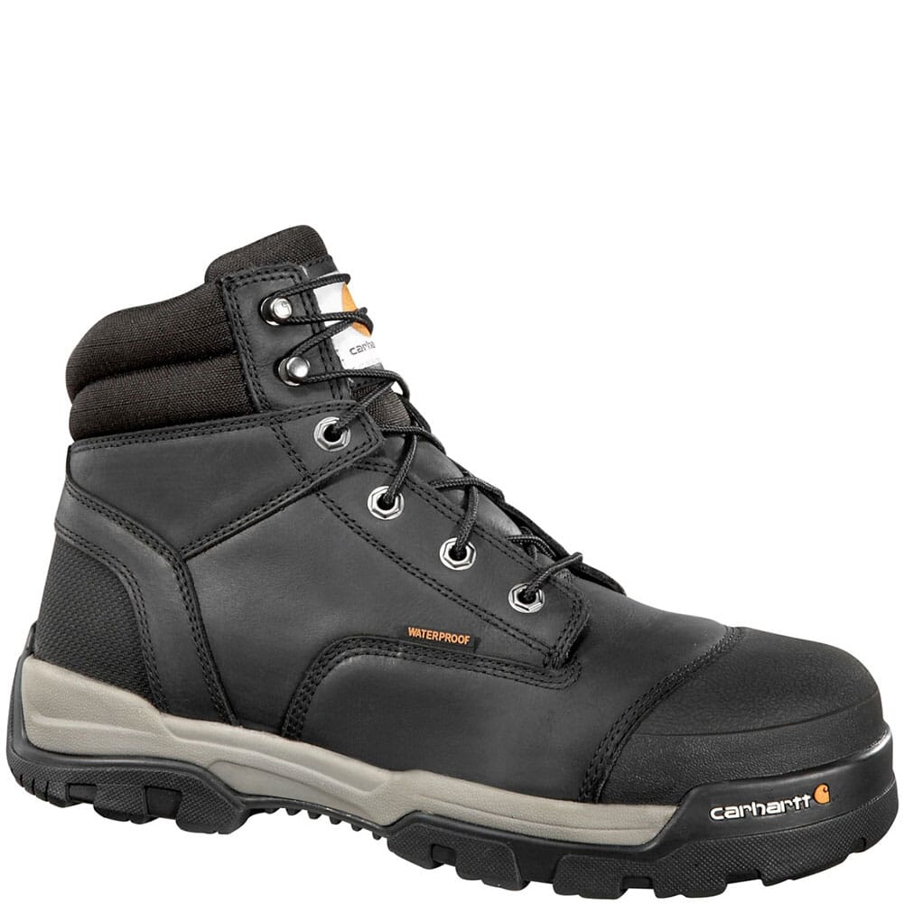 Image for Carhartt Men's Ground Force Safety Boots - Black from bootbay
