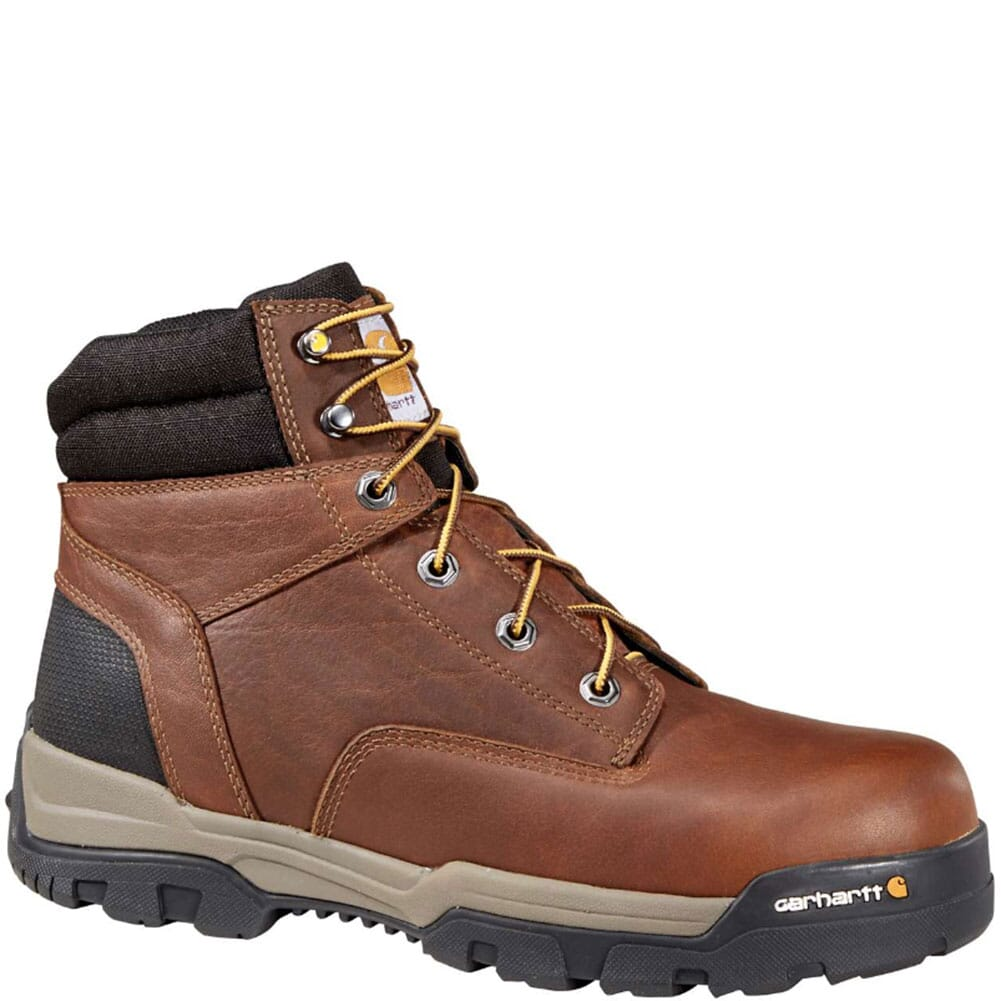 Image for Men's Ground Force Safety Boots - Brown from bootbay