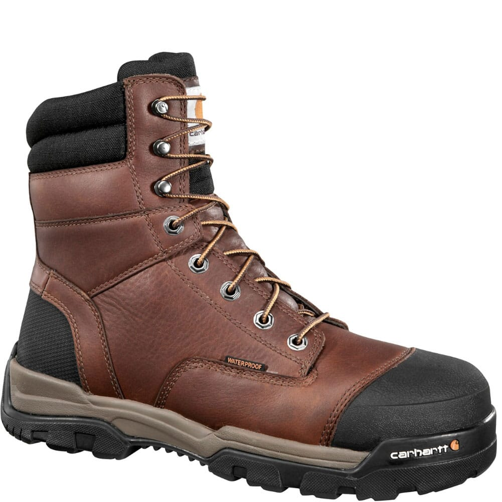Image for Carhartt Men's Ground Force 8IN Safety Boots - Brown from bootbay