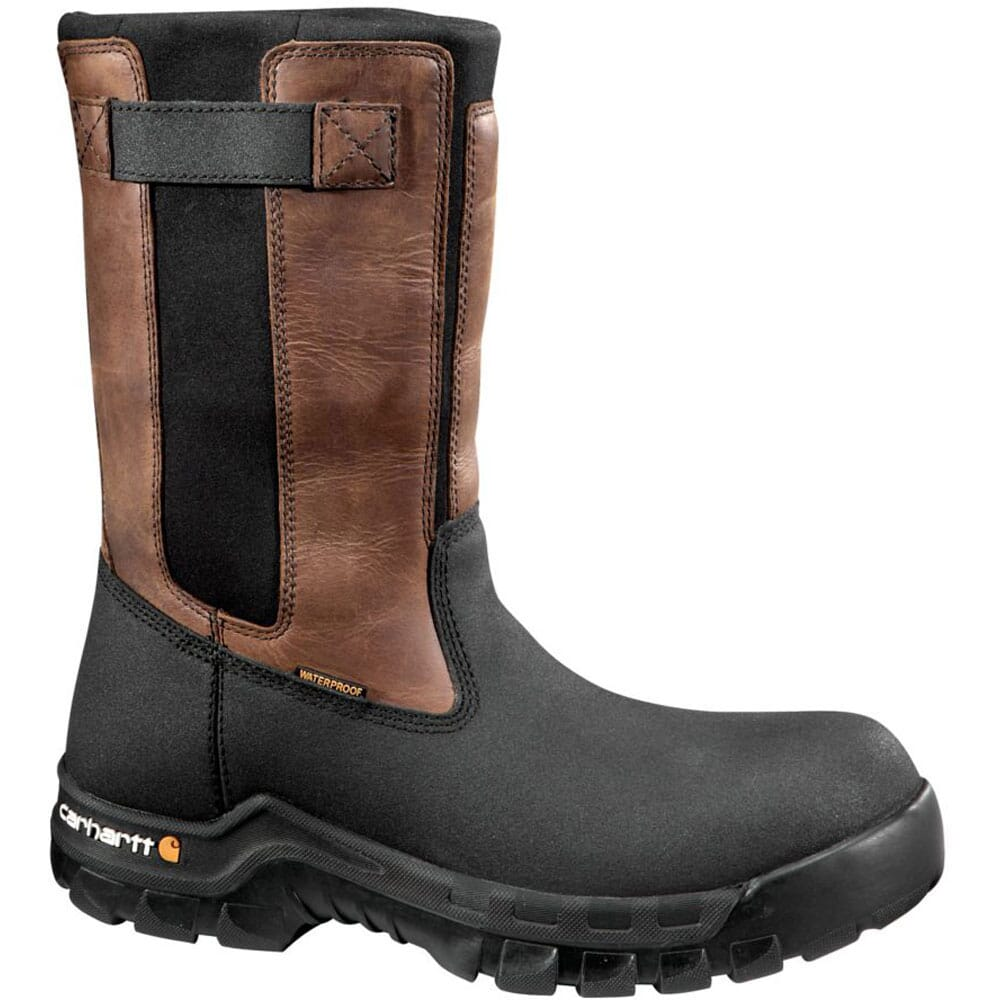 Image for Carhartt Men's Rugged Flex CT WP Safety Boots - Brown from bootbay