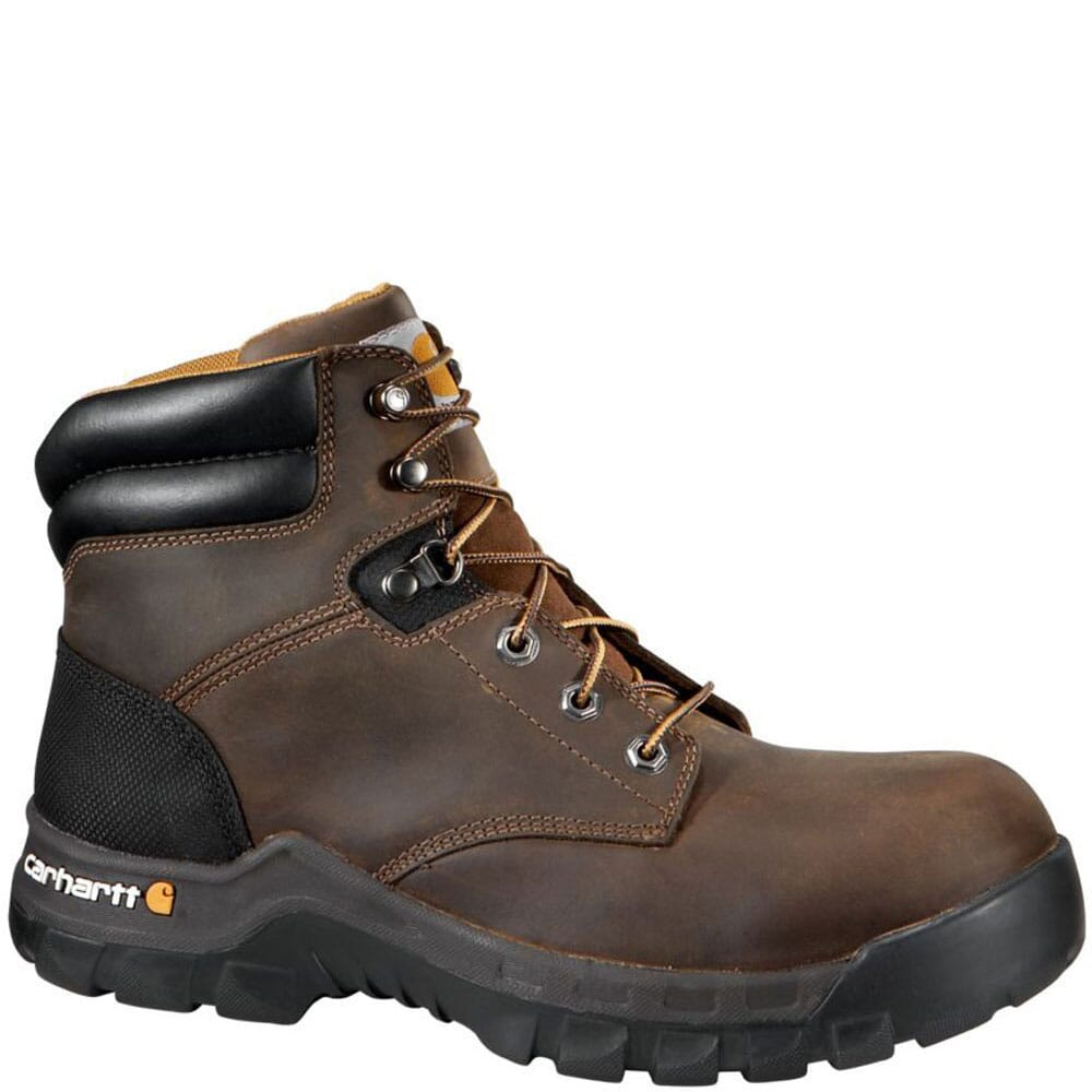 Image for Carhartt Men's Rugged Flex EH Work Boots - Brown from bootbay