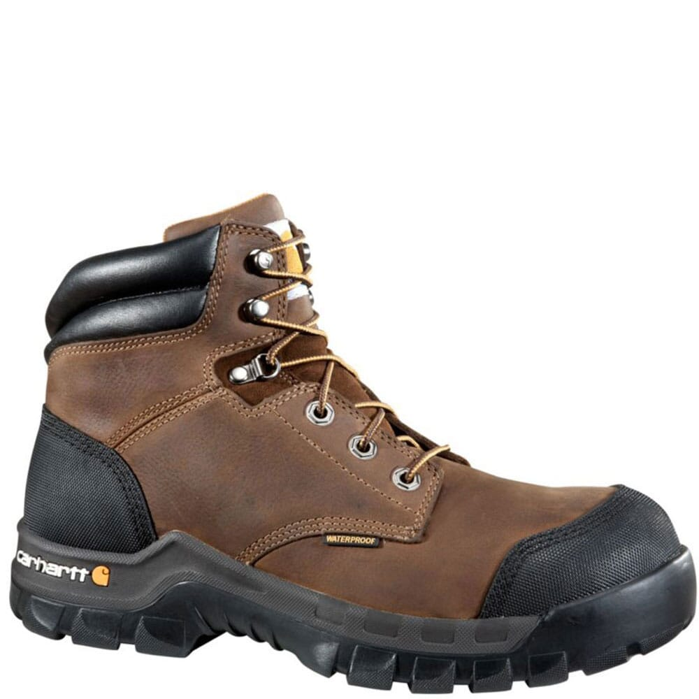 Image for Carhartt Men's Rugged Flex BRN Safety Boots - Dark Brown from bootbay