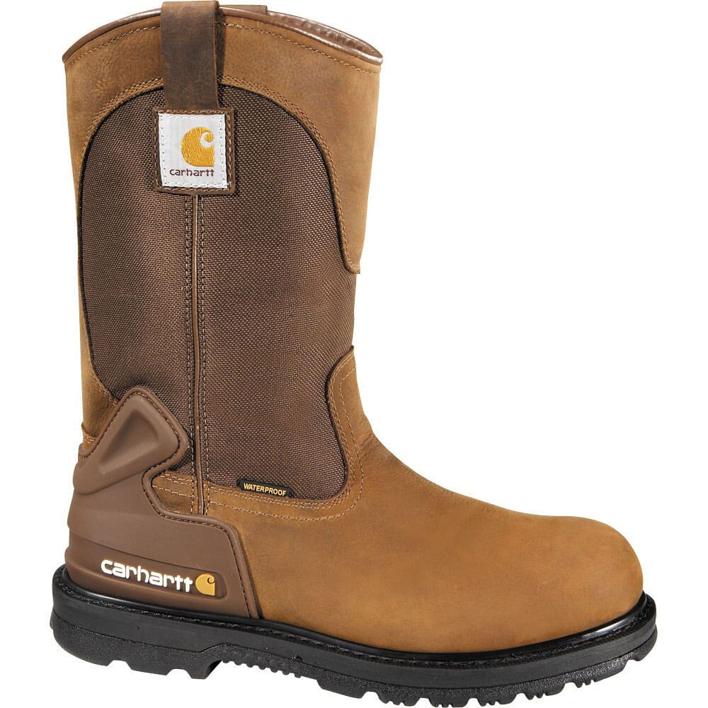 Image for Carhartt Men's Waterproof EH Safety Boots - Brown from bootbay