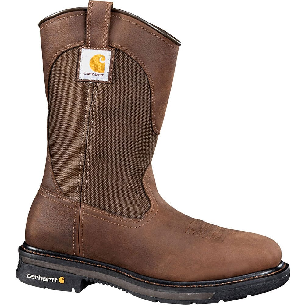 Image for Carhartt Men's SQ Toe Safety Boots - Brown from bootbay