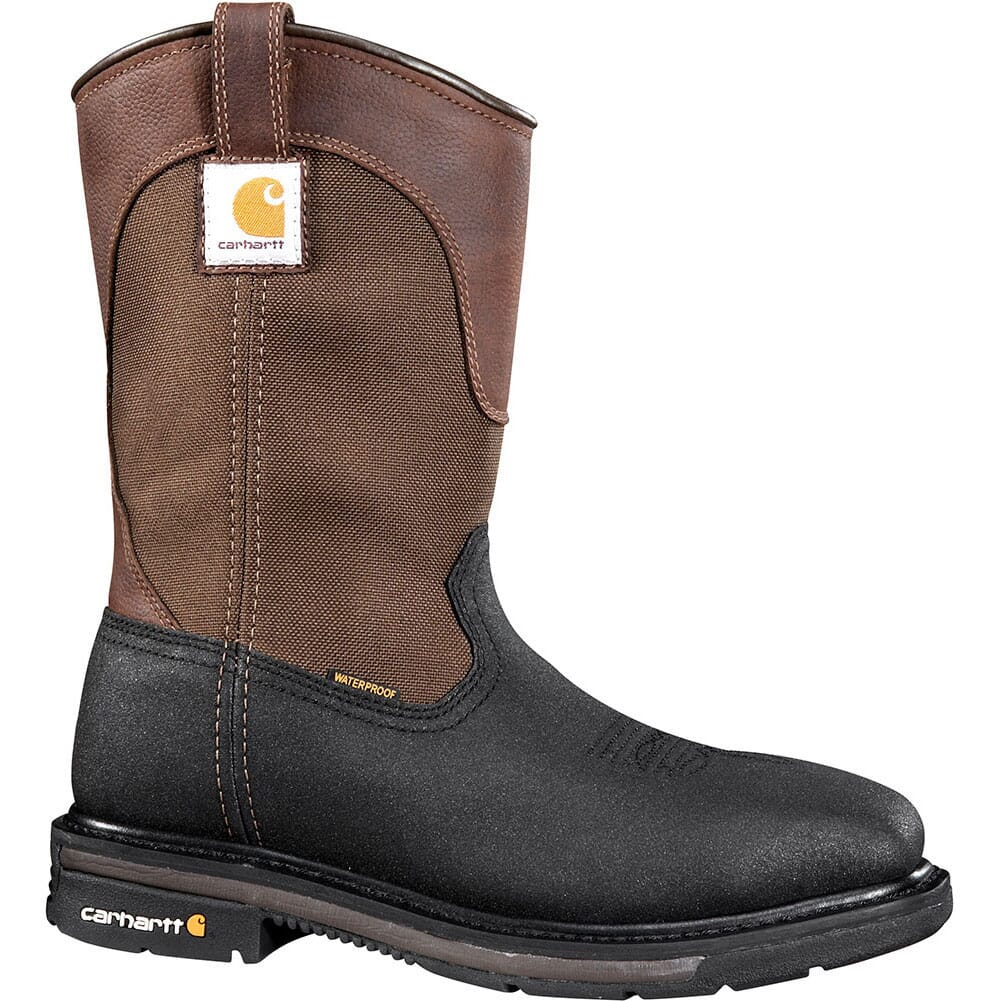 Image for Carhartt Men's WP Pull On Safety Boots - Brown from bootbay