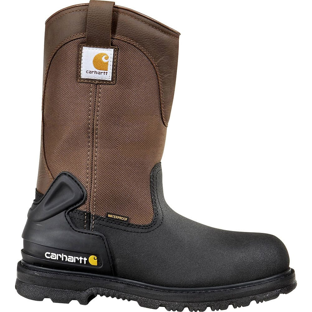 Image for Carhartt Men's WP INS Safety Boots - Brown from bootbay