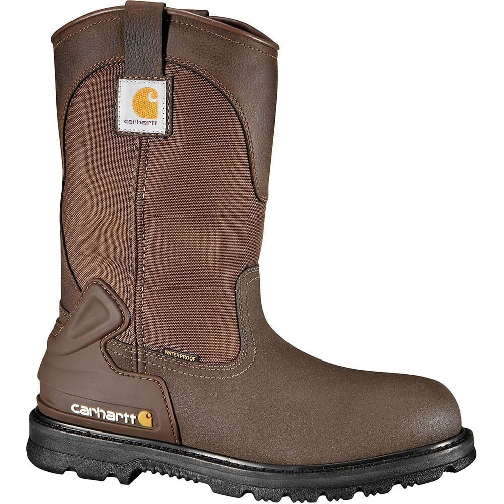 Image for Carhartt Men's Steel Toe Safety Boots - Brown from bootbay