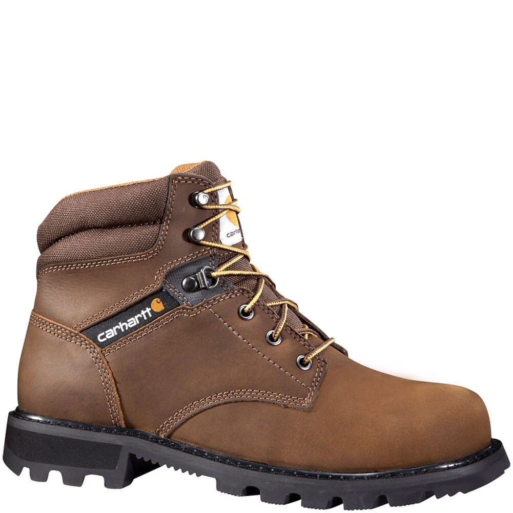 Image for Carhartt Men's EH Work Boots - Brown from bootbay