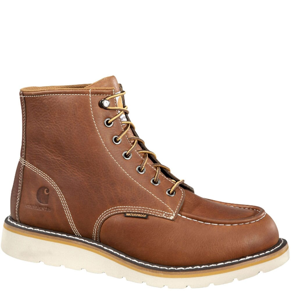 Image for Carhartt Men's Wedge Work Boots - Tan from bootbay