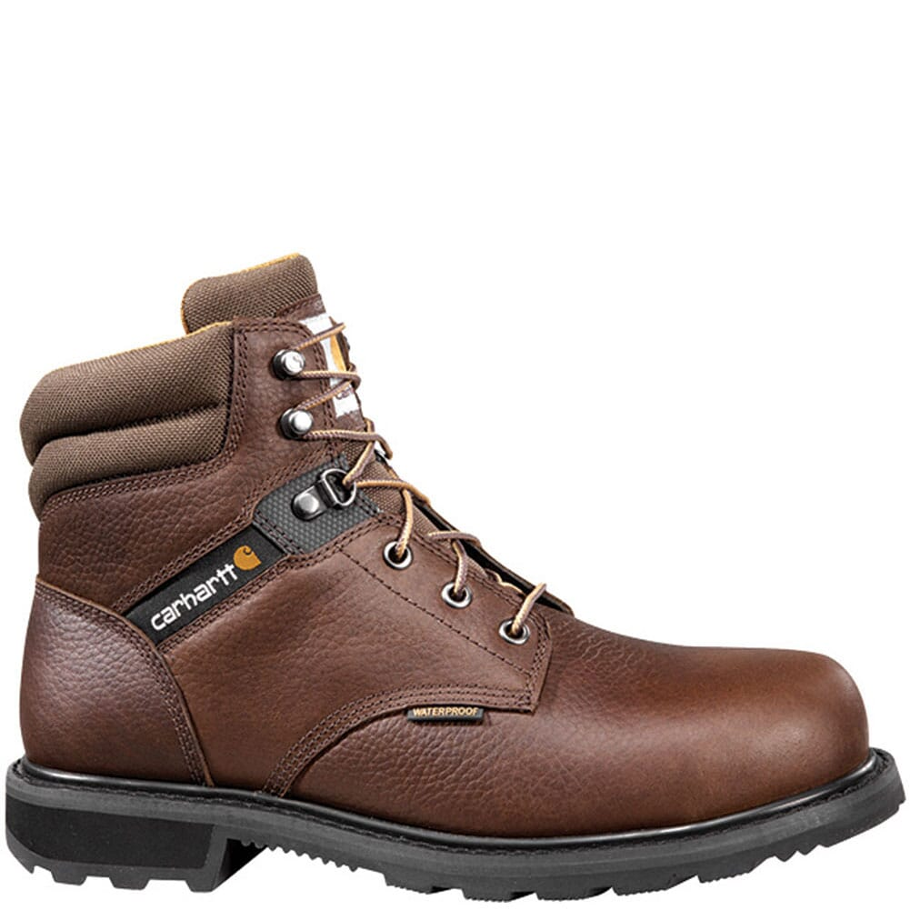 Image for Carhartt Men's WP EH Safety Boots - Brown from bootbay