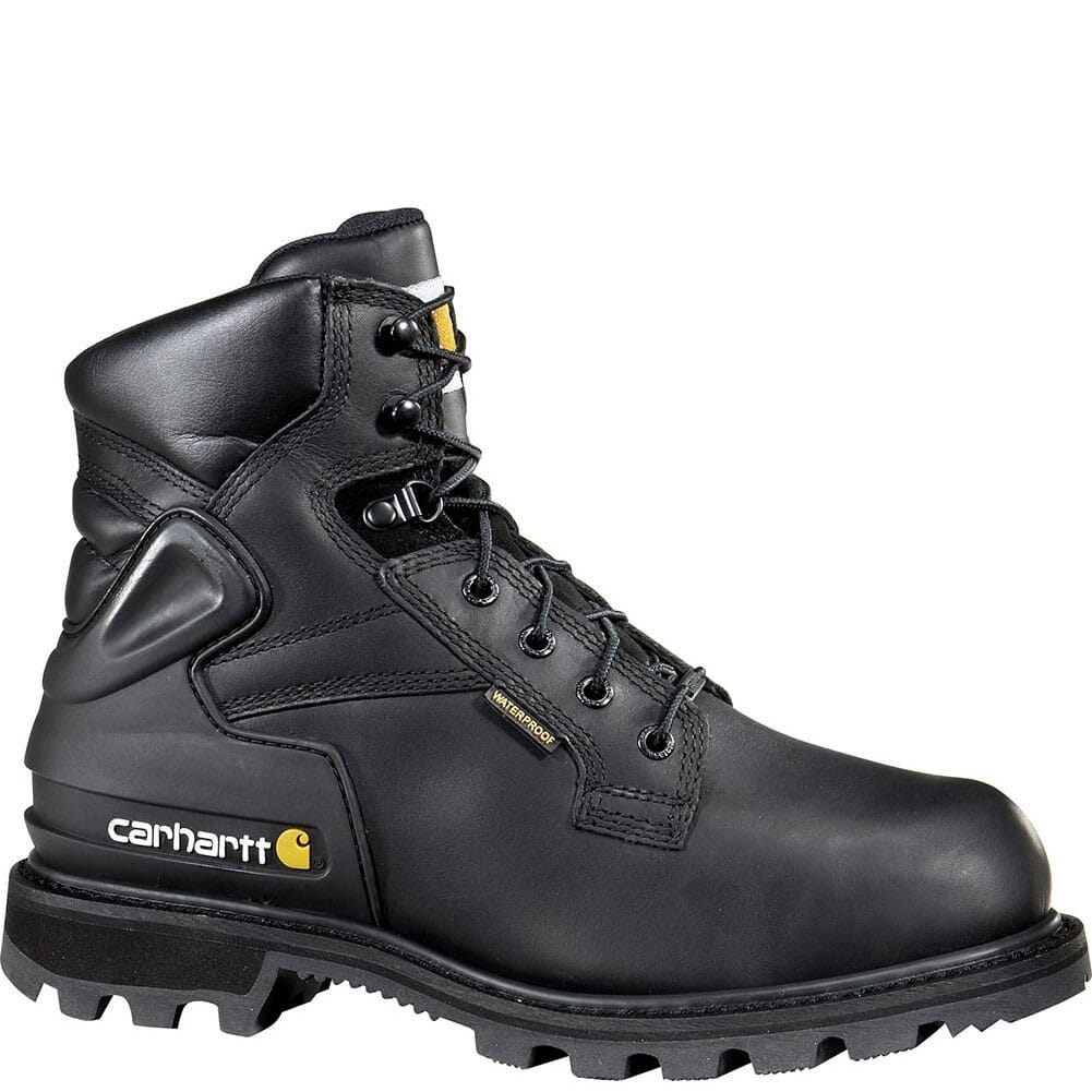 Image for Carhartt Men's Waterproof Safety Boots - Black from bootbay