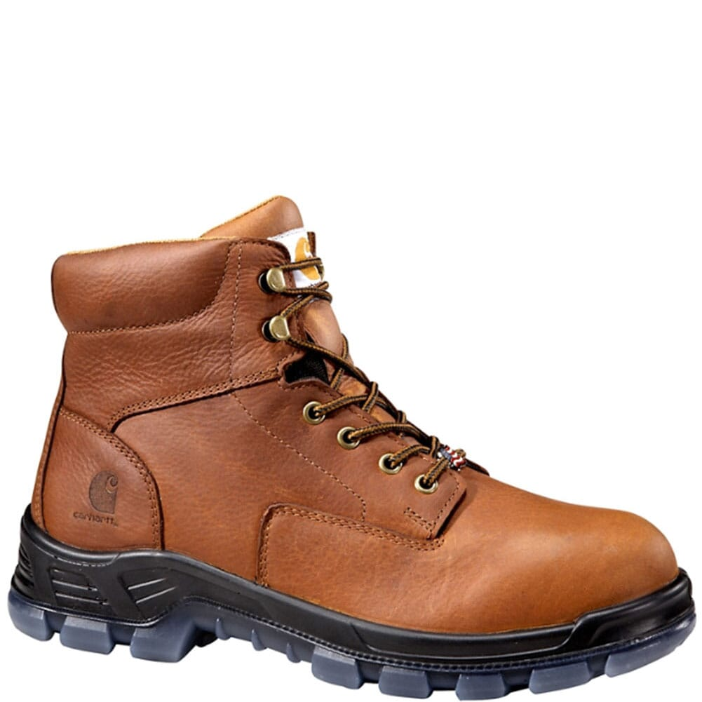Image for Carhartt Men's USA Waterproof 6IN Work Boots - Brown from bootbay
