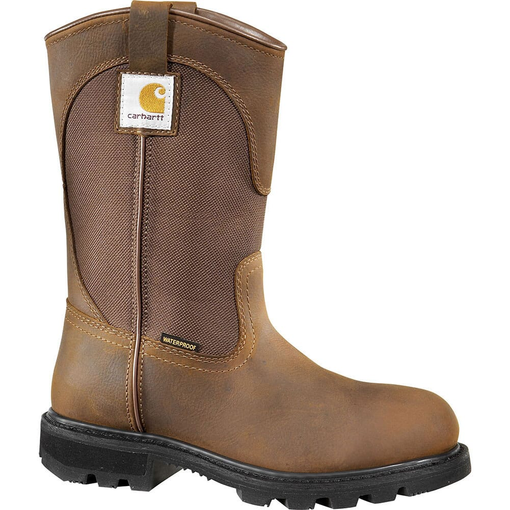 Image for Carhartt Women's Waterproof Safety Boots - Brown from elliottsboots