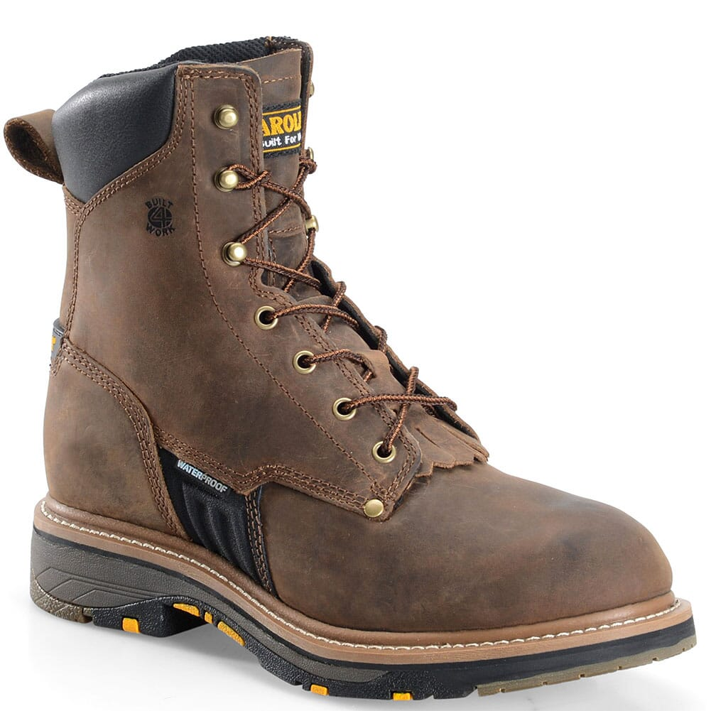 Image for Carolina Men's Workflex Work Boots - Tan Crazy from bootbay