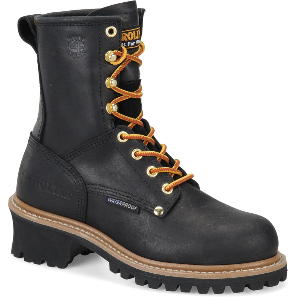 Image for Carolina Women's Waterproof Safety Loggers - Black from elliottsboots