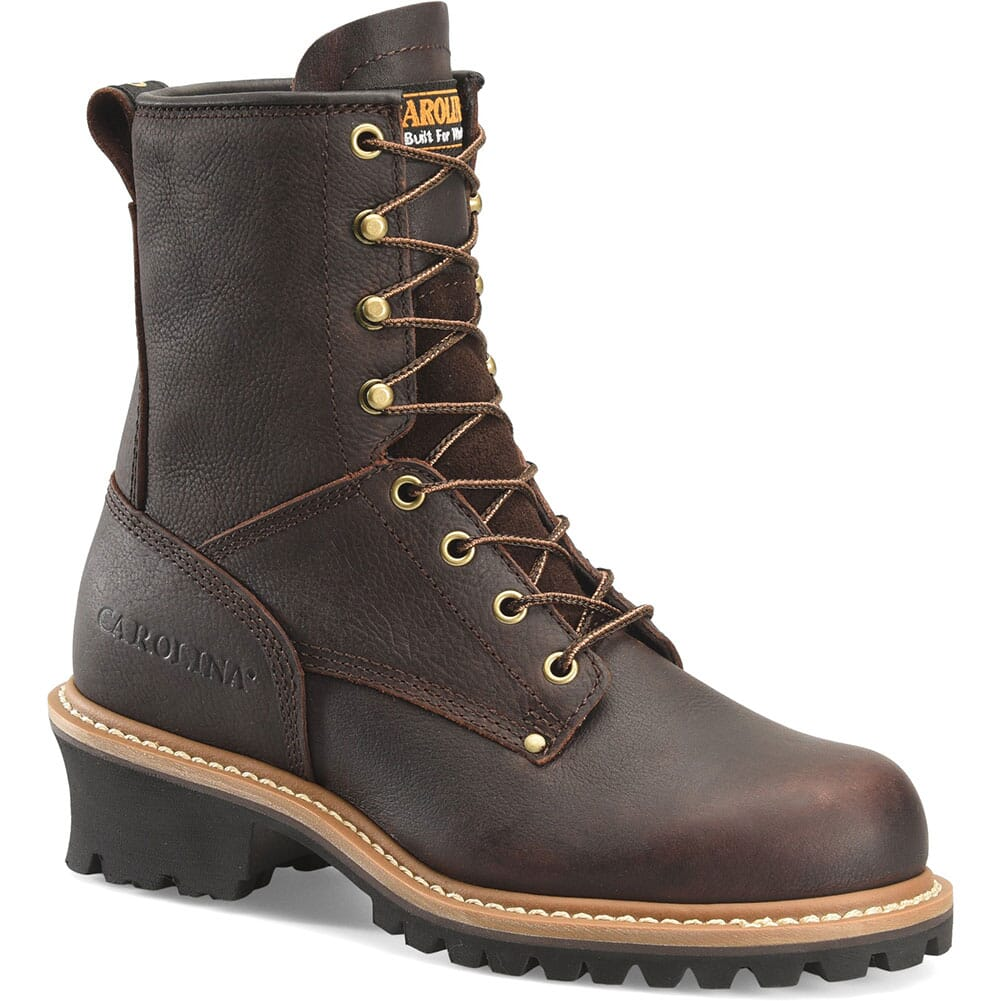 Image for Carolina Women's EH Safety ST Loggers - Dark Brown from bootbay