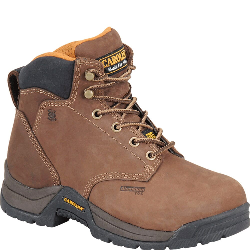 Image for Carolina Women's Metguard Safety Boots - Brown from elliottsboots